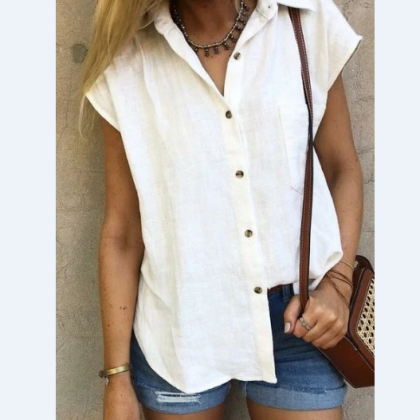 Casual Loose Cardigan Shirt